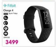Fitbit Charge 4 offer at R 3499