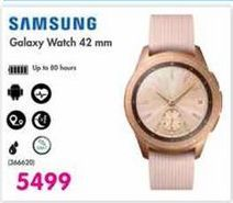 Samsung Galaxy Watch 42mm offer at R 5499