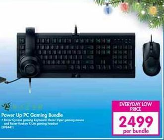 Power Up PC Gaming Bundle offer at R 2499