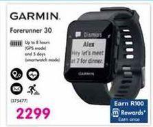 Garmin Forerunner 30 offer at R 2299