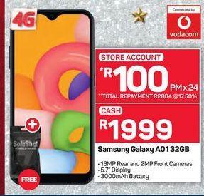 Samsung Galaxy A01 32GB offer at R 1999