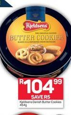 Kjieldsens Danish Butter Cookies offer at R 104,99
