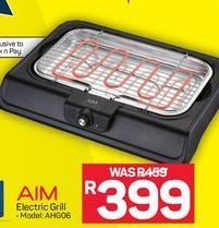 Aim Electric Grill offer at R 399