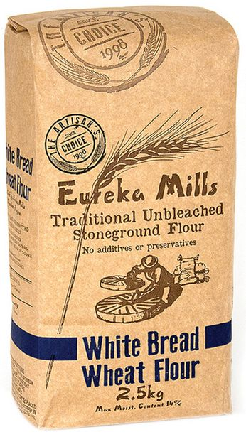 Eureka Unbleached Stone Ground White Bread Fl... offers at R 54,99