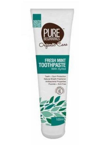 Pure Beginnings Toothpaste Fresh Mint offers at R 54,99