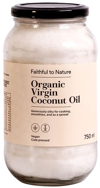 Faithful to Nature Organic Virgin Coconut Oil... offers at R 123,99