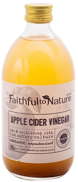 Faithful to Nature Organic Raw Apple Cider Vi... offers at R 69