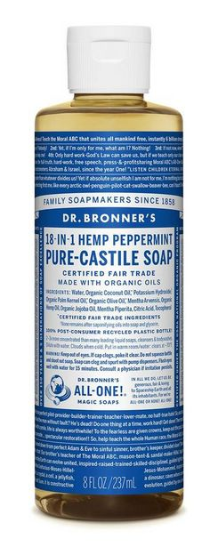 Dr. Bronner's Pure Castile Liquid Soap - Pepp... offers at R 199