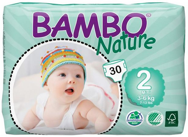 Bambo Nature Mini Disposables (3-6kg) offers at R 249