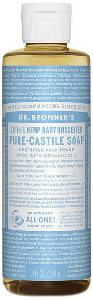 Dr. Bronner's Pure Castile Liquid Soap - Baby... offers at R 195