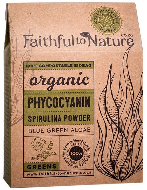 Faithful to Nature Organic Phycocyanin Spirul... offers at R 399