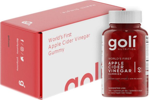 Goli Nutrition Apple Cider Vinegar Gummies offers at R 489