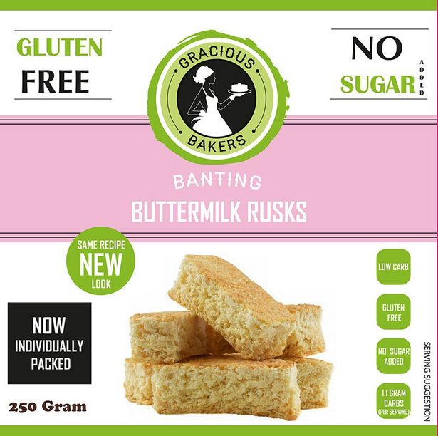 Gracious Bakers Buttermilk Rusks offers at R 74,99