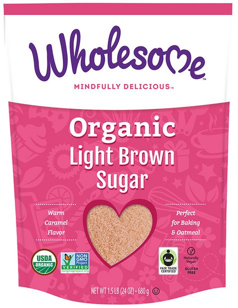 Wholesome Organic Light Brown Sugar offers at R 119