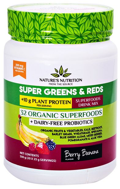 Nature's Nutrition Super Greens & Reds - ... offers at R 499