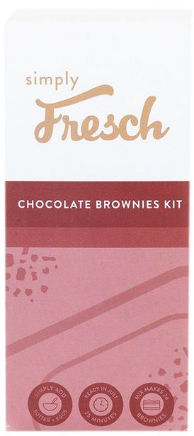 Simply Fresch Chocolate Brownies Kit offers at R 64,99