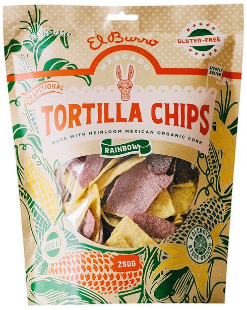 El Burro Rainbow Corn Chips offer at R 60