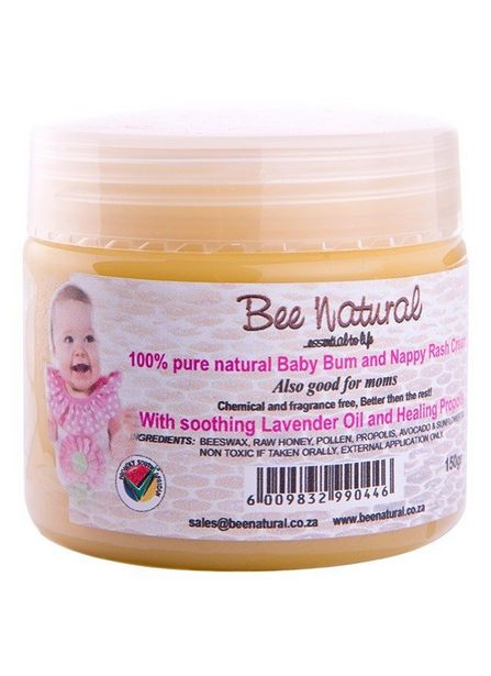 Bee Natural Nappy Rash Cream offers at R 139