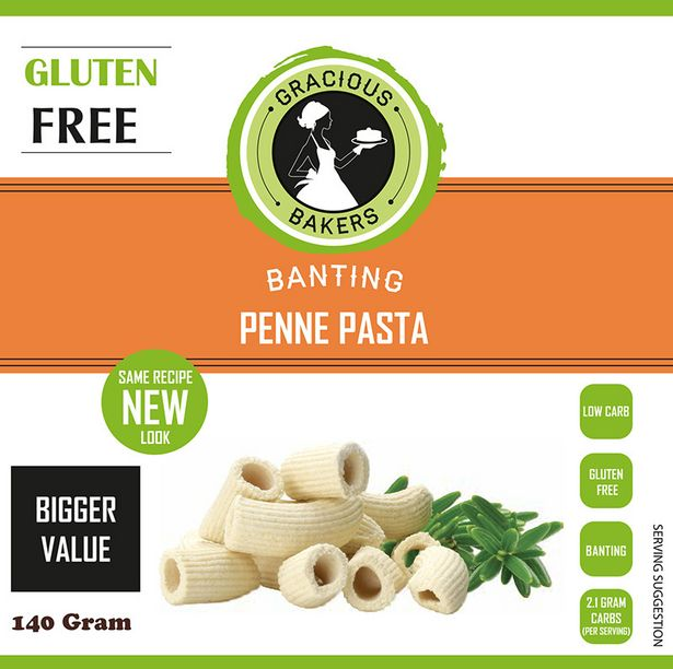 Gracious Bakers Banting Penne Pasta offers at R 39,99