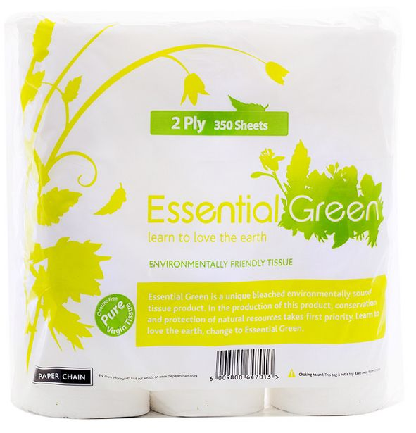 Essential Green Toilet Paper 2Ply offers at R 79