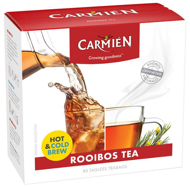 Carmien Rooibos Tea offers at R 59,99