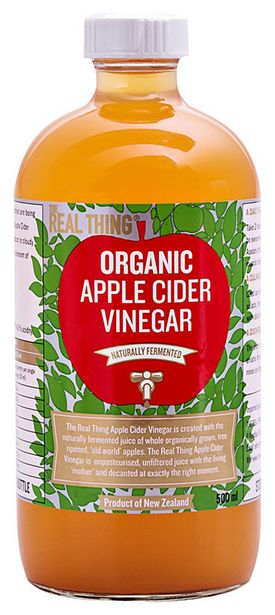 The Real Thing Apple Cider Vinegar offers at R 120