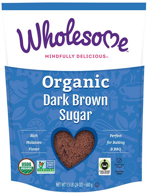 Wholesome Organic Dark Brown Sugar offers at R 119