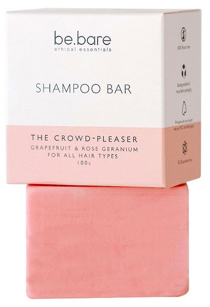 Be.bare The Crowd-Pleaser Shampoo Bar offers at R 129