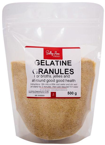 Sally Ann Creed Gelatine 500g offers at R 189