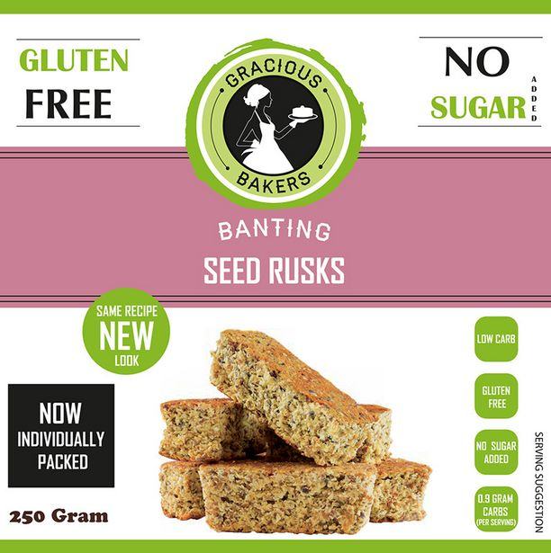 Gracious Bakers Banting Rusks offers at R 64,99