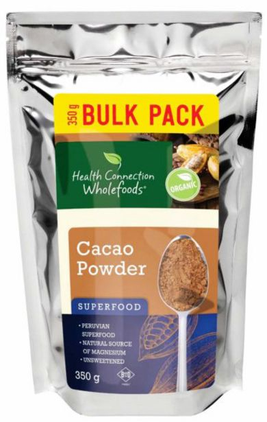 Health Connection Superfood Organic Cacao Pow... offers at R 204