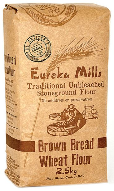 Eureka Unbleached Stone Ground Brown Bread Fl... offers at R 54,99