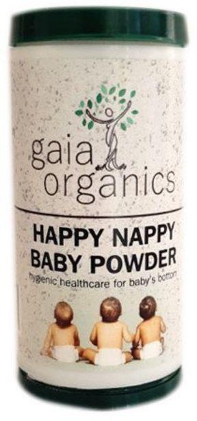 Gaia Organics Happy Nappy Baby Powder offers at R 84,99