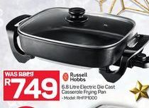 Russell Hobbs 6.8 Litre Electric Die Cast Casserole Frying Pan offer at R 749