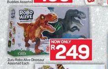 Zuru Robo Alive Robotic Reptiles offer at R 249