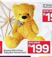 Grandex 100cm Plush Teddy Bear offer at R 199