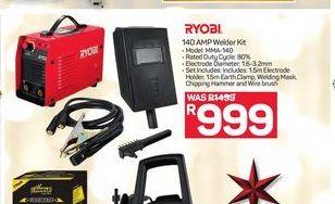 Ryobi 140 AMP Welder Kit offer at R 999