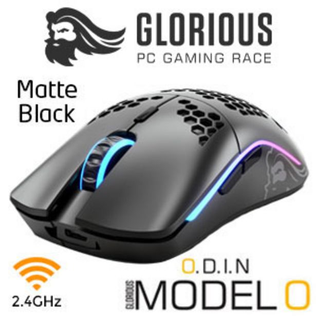 Glorious Model O Wireless Gaming Mouse - Matte Black offers at R 1299