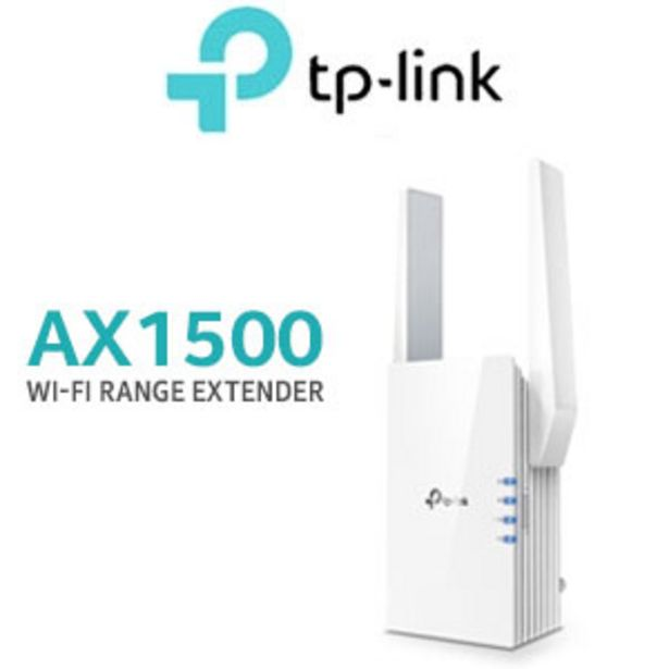 TP-LINK RE505X AX1500 Wi-Fi Range Extender offers at R 1299