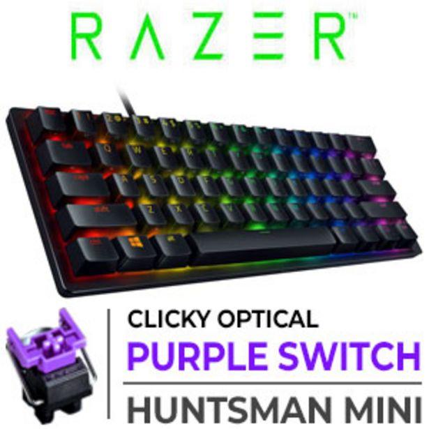 Razer Huntsman Mini Gaming Keyboard - Purple Switches - Black offers at R 1999