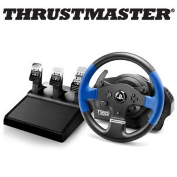Thrustmaster T150 Pro Force Feedback Racing Wheel offers at R 3899