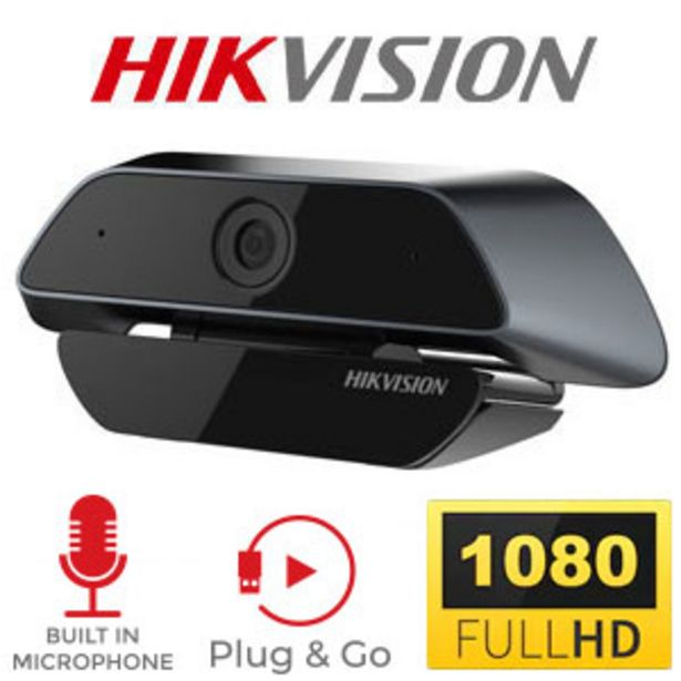 Hikvision DS-U12 Full HD 1080p Webcam offers at R 599