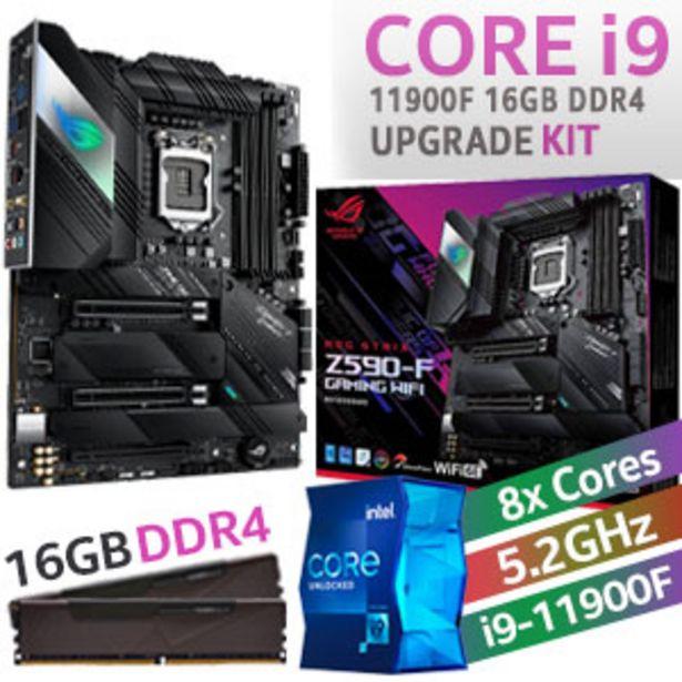 Core i9 11900F ROG Strix Z590-F Wi-Fi 16GB DDR4 Upgrade Kit offers at R 14499