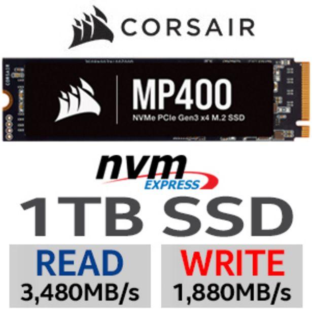 Corsair MP400 1TB NVMe PCIe M.2 SSD offers at R 1999