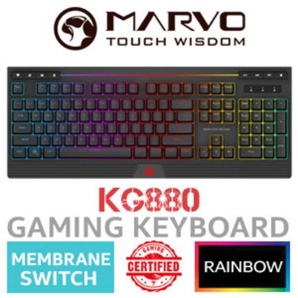 MARVO KG880 Membrane Gaming Keyboard offers at R 399