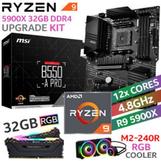 RYZEN 9 5900X MSI B550-A PRO 32GB RGB 2666MHz Upgrade Kit offers at R 14999