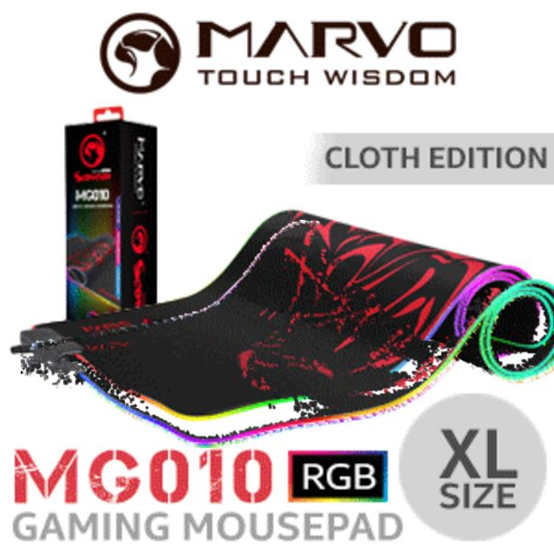 MARVO MG010 RGB Gaming Mousepad - XL offers at R 269