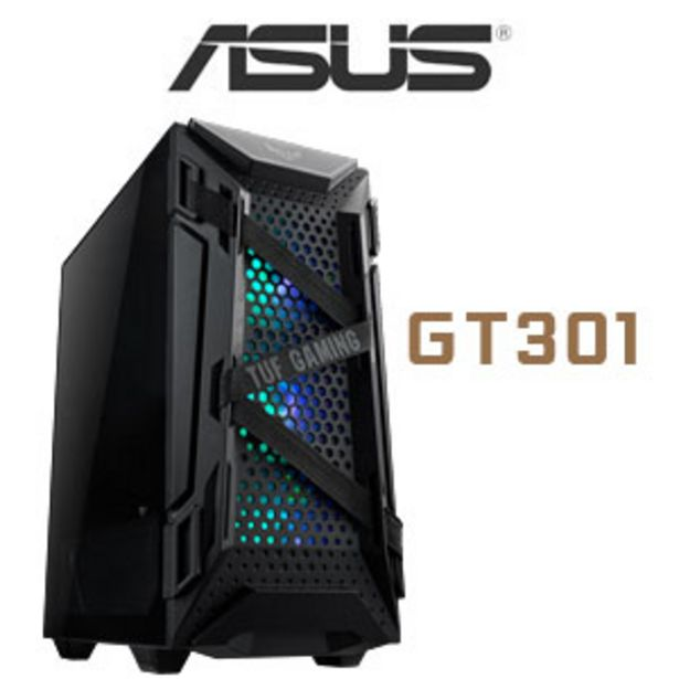 ASUS TUF Gaming GT301 Gaming Case offers at R 1999