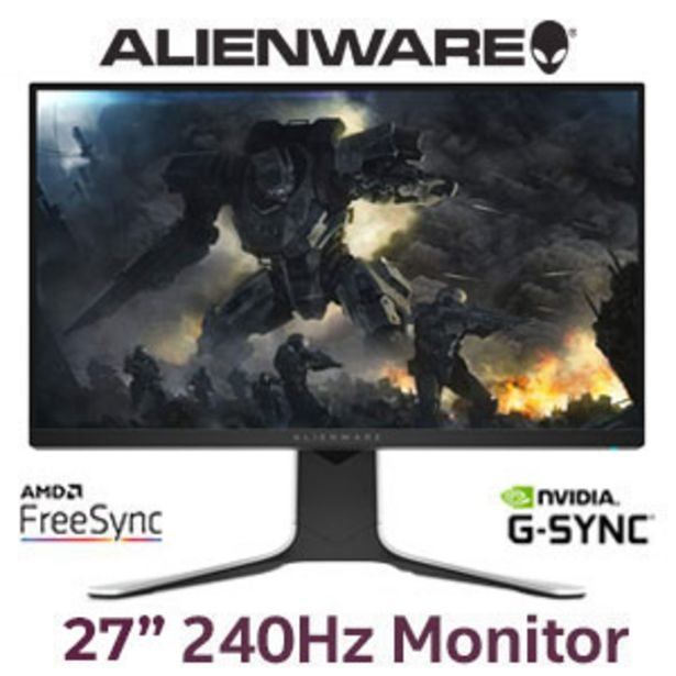 """Alienware  AW2720HFA 27"""" 240Hz Gaming Monitor offers at R 6599"""