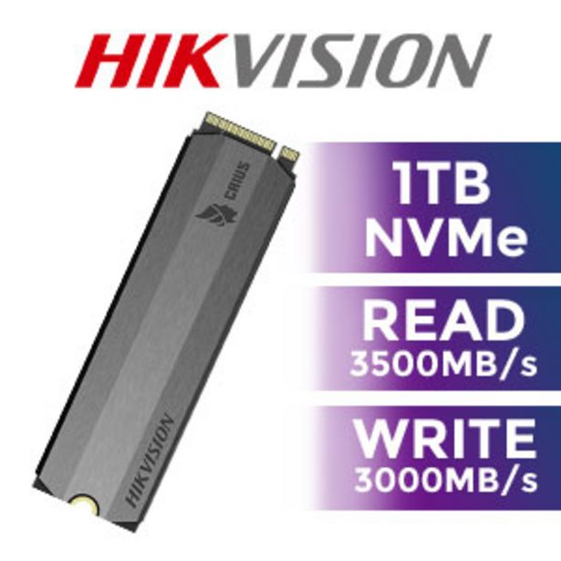 Hikvision E2000 1TB NVMe SSD offers at R 2099